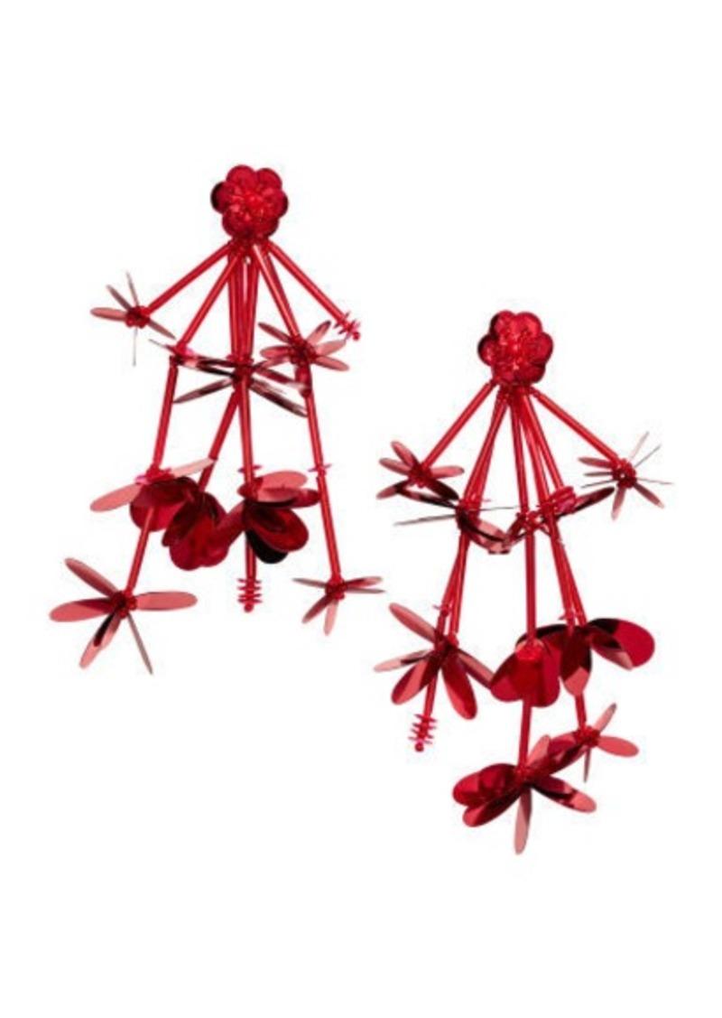 H&M H & M - Long Earrings - Red