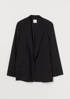 H&M H & M - Long Jacket - Black