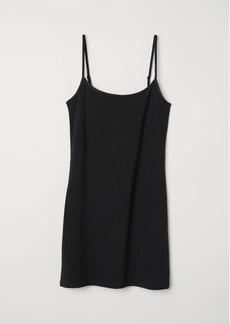 H&M H & M - Long Jersey Camisole Top - Black