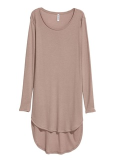 H&M H & M - Long Jersey Top - Brown