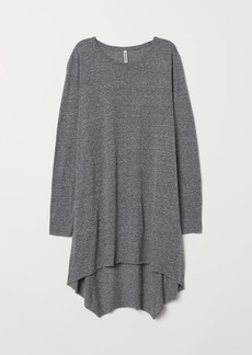 H&M H & M - Long Jersey Top - Gray