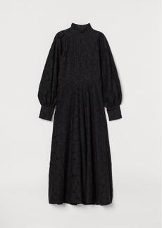 H&M H & M - Long Lace Dress - Black