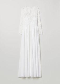 H&M H & M - Lace Wedding Dress - White