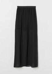 H&M H & M - Long Skirt - Black