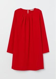 H&M H & M - Long-sleeved Dress - Red