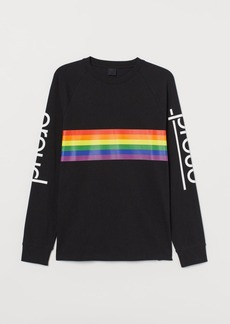 H&M H & M - Long-sleeved Shirt - Black