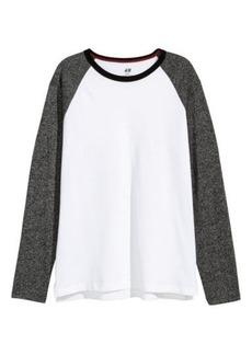 H&M H & M - Long-sleeved T-shirt - White