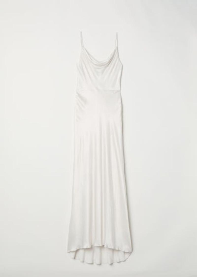H&M H & M - Long Sleeveless Dress - White