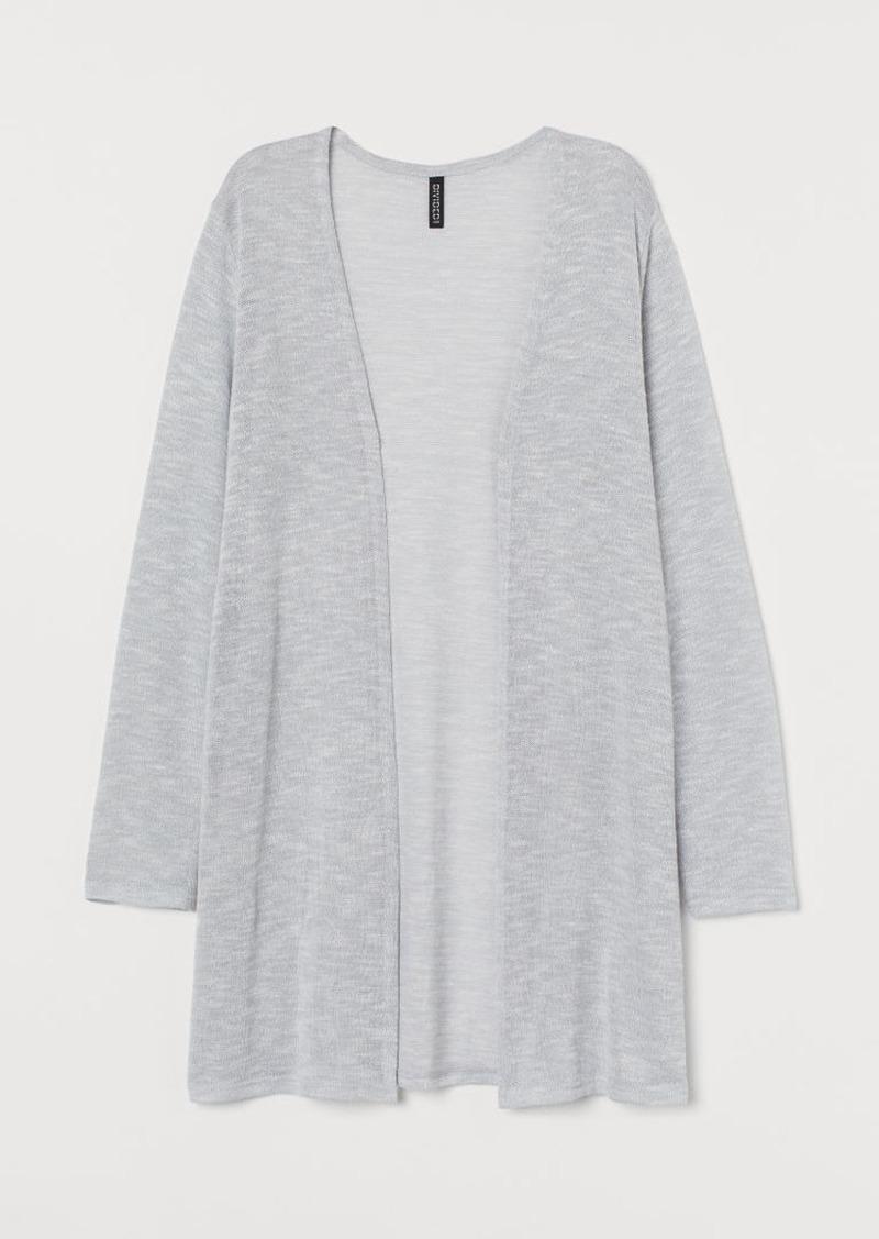 H&M H & M - Loose-knit Cardigan - Gray