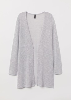 H&M H & M - Loose-knit Cardigan - Gray