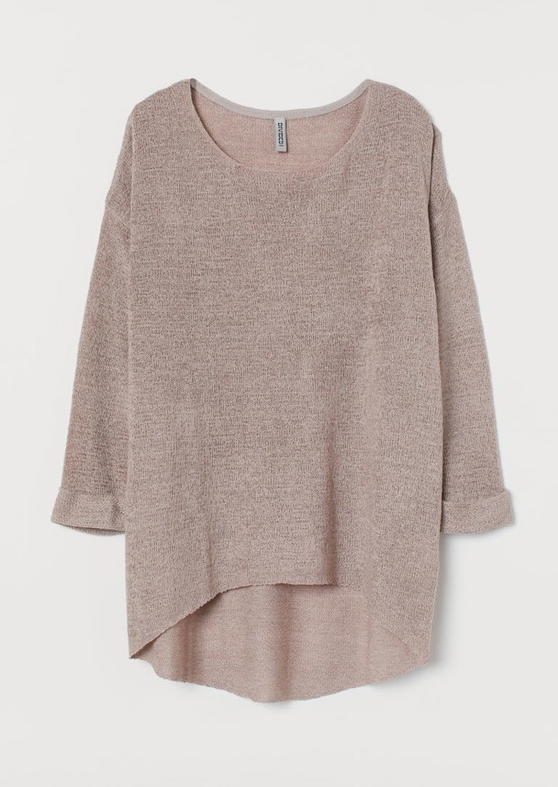 H&M H & M - Loose-knit Sweater - Brown