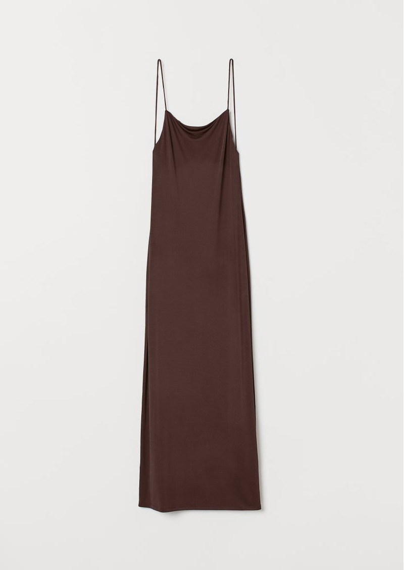 H&M H & M - Low-backed Dress - Brown