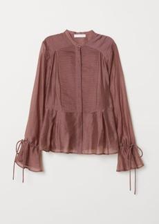 H&M H & M - Lyocell-blend Blouse - Pink