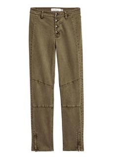 H&M H & M - Lyocell-blend Pants - Green
