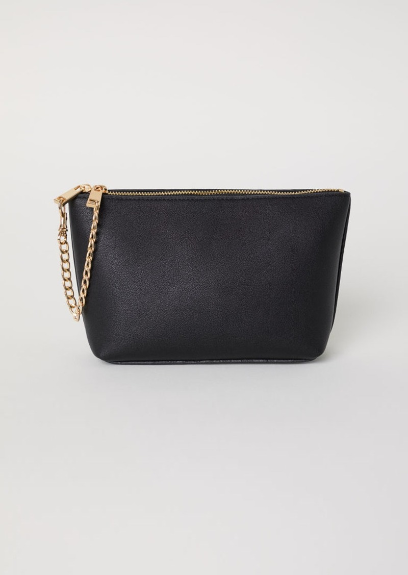 H M Makeup Bag Black Handbags