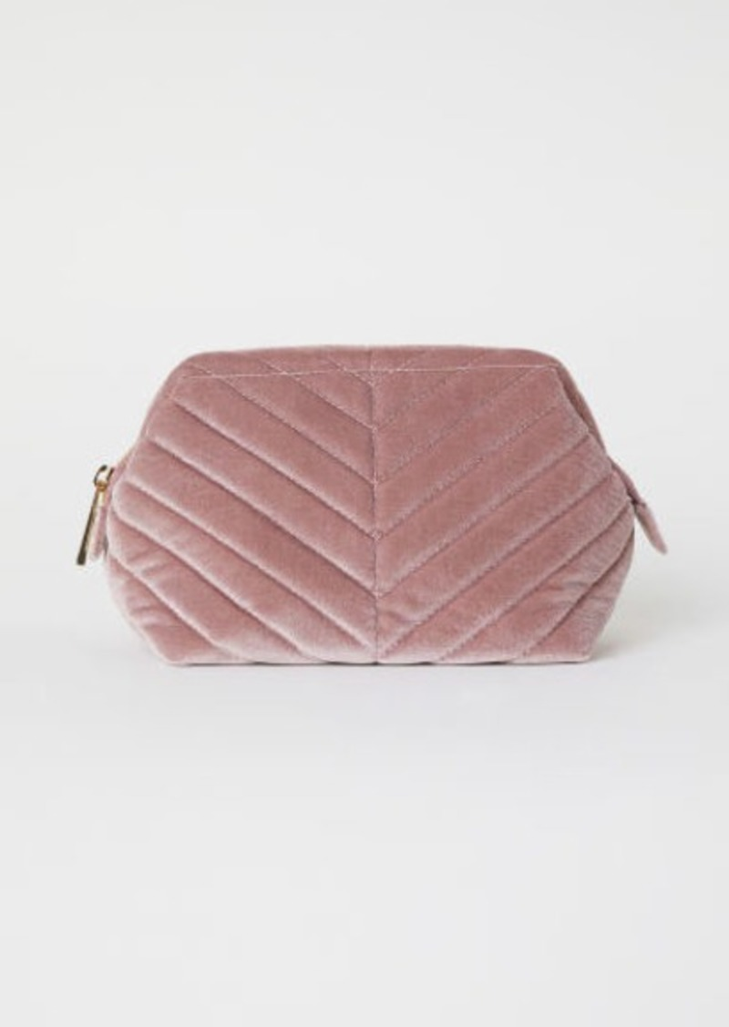 H M Makeup Bag Pink Handbags