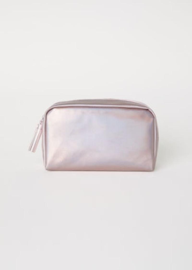H M Makeup Bag Pink