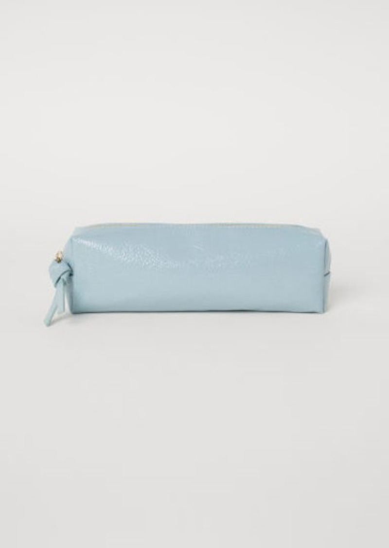 H&M H & M - Makeup Brush Bag - Turquoise