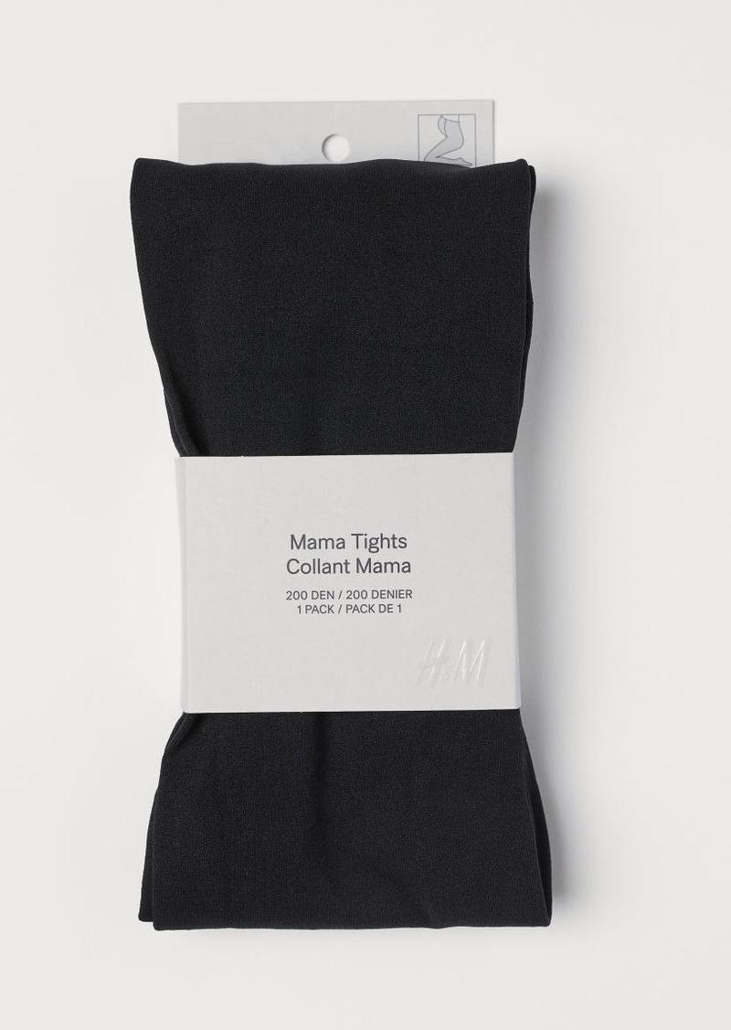 H&M H & M - MAMA 200 Denier Tights - Black