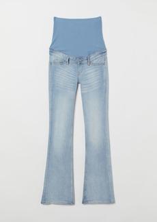 H&M H & M - MAMA Bootcut Jeans - Blue