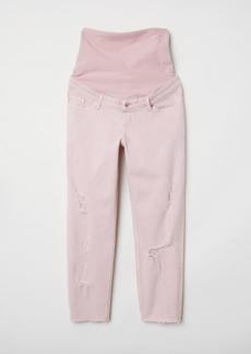 H&M H & M - MAMA Boyfriend Jeans - Orange