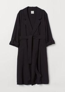 H&M H & M - MAMA Coat - Black