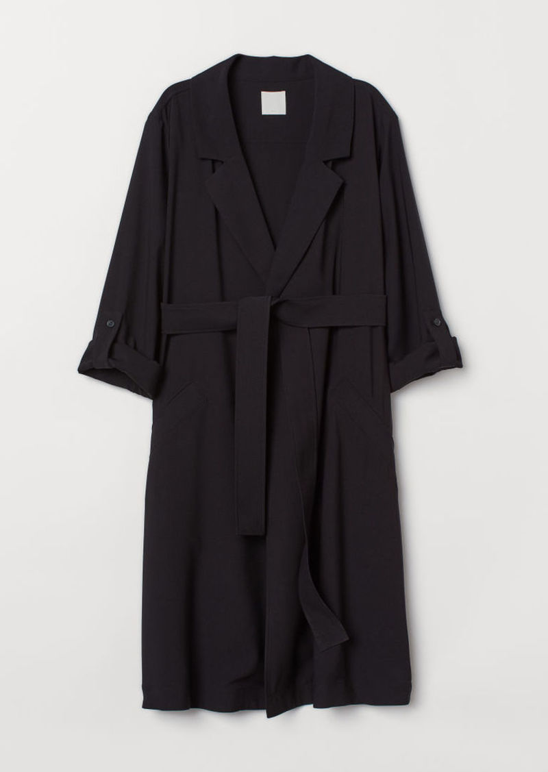 H&M H & M - MAMA Coat - Black