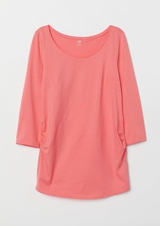 H&M H & M - MAMA Cotton Jersey Top - Red