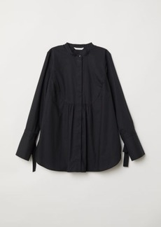 H&M H & M - MAMA Cotton Shirt - Black