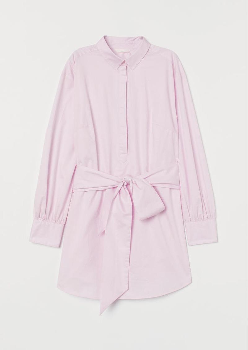 H&M H & M - MAMA Cotton Shirt - Pink