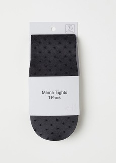 H&M H & M - MAMA Dotted Tights - Black