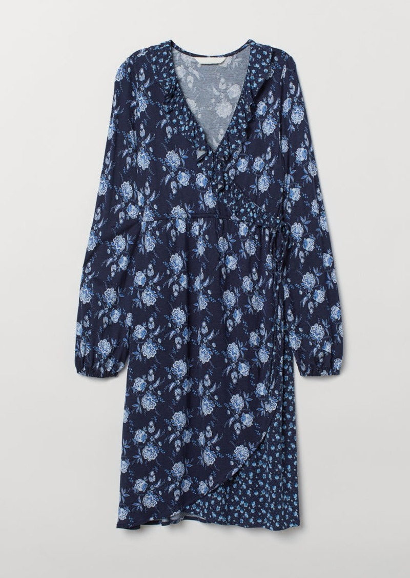 H&M H & M - MAMA Dress - Blue