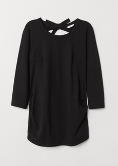 H&M H & M - MAMA Jersey Top - Black