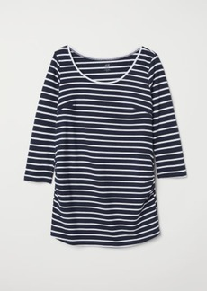 H&M H & M - MAMA Jersey Top - Blue