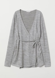 H&M H & M - MAMA Jersey Top - Gray