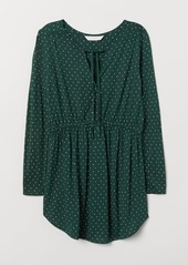 H&M H & M - MAMA Jersey Top - Green