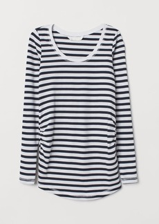 H&M H & M - MAMA Jersey Top - White