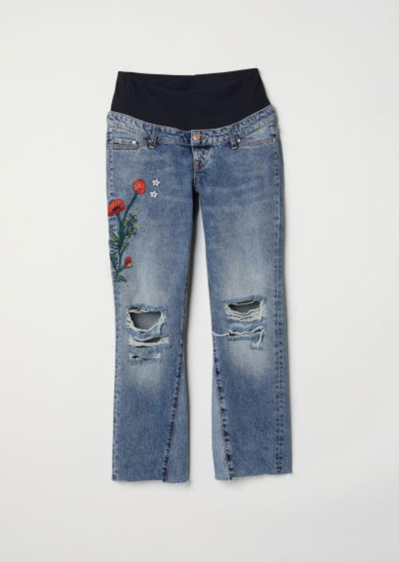 H&M H & M - MAMA Kick Flare Jeans - Blue