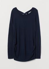 H&M H & M - MAMA Knit Sweater - Blue