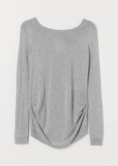 H&M H & M - MAMA Knit Sweater - Gray