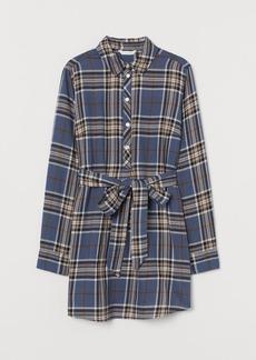 H&M H & M - MAMA Long Cotton Shirt - Black
