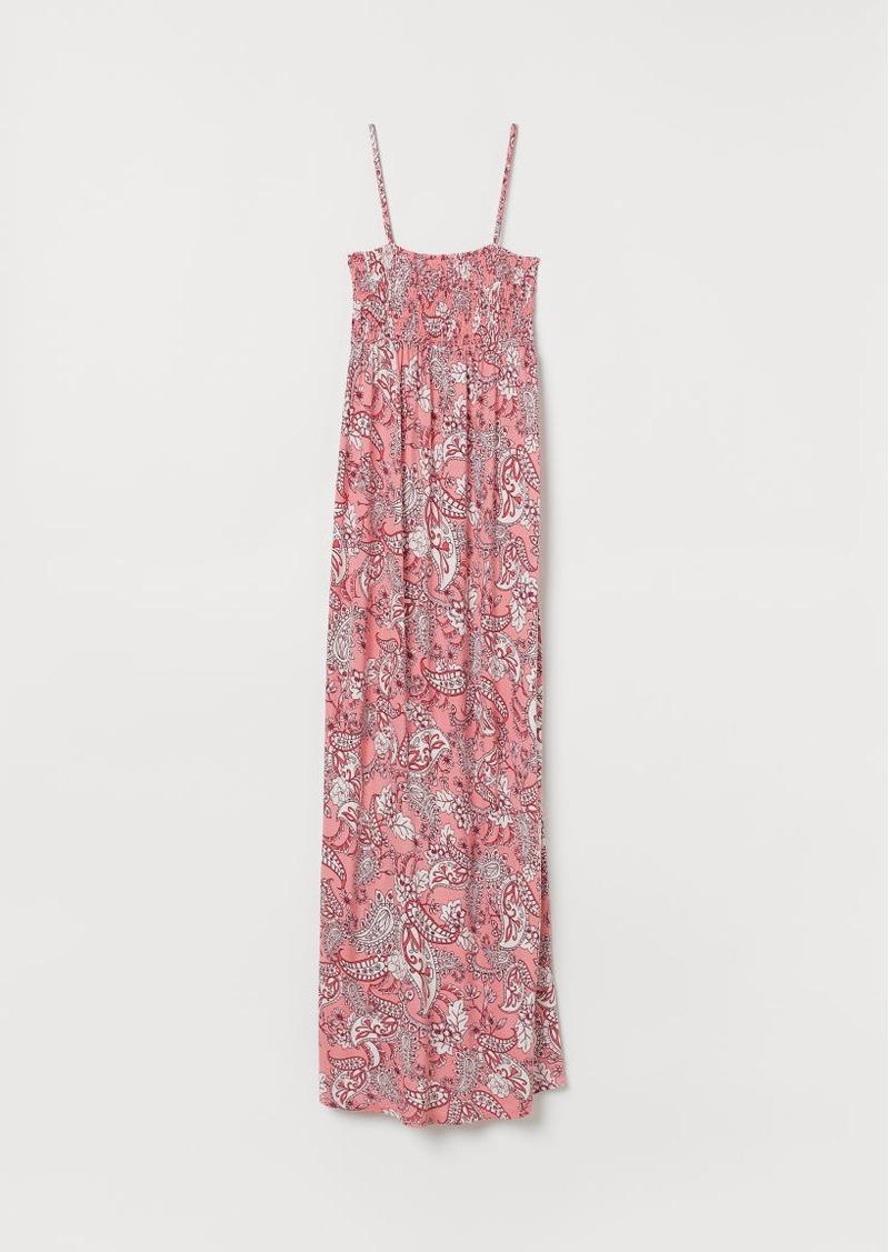 H&M H & M - MAMA Long Jersey Dress - Red