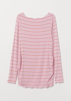 H&M H & M - MAMA Long-sleeved Jersey Top - Pink