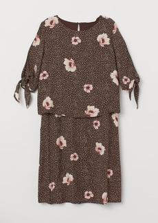 H&M H & M - MAMA Nursing Dress - Brown