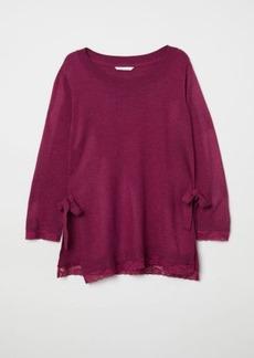 H&M H & M - MAMA Nursing Sweater - Pink