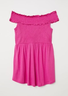 H&M H & M - MAMA Off-the-shoulder Top - Pink