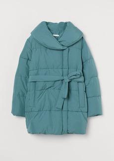 H&M H & M - MAMA Padded Jacket - Turquoise