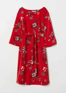 H&M H & M - MAMA Patterned Dress - Red