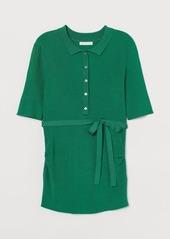 H&M H & M - MAMA Ribbed Top - Green