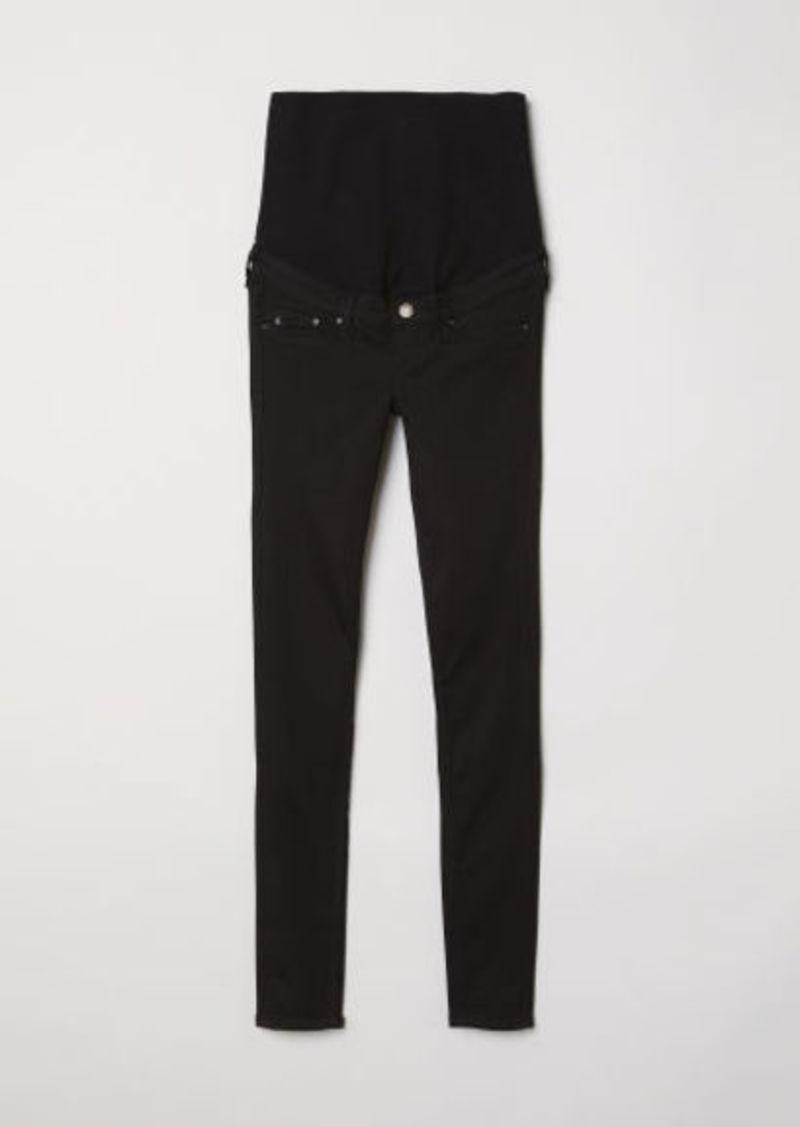 H&M H & M - MAMA Shaping Skinny Jeans - Black
